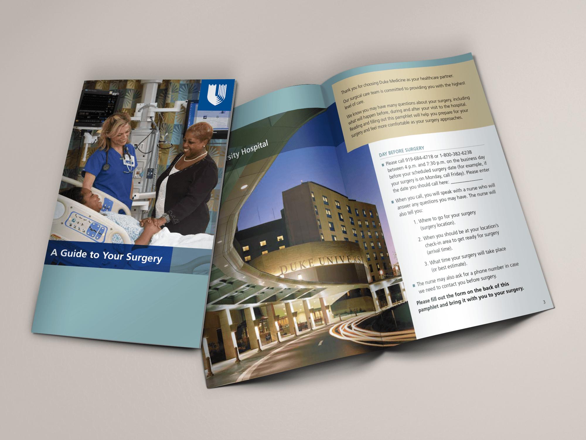 Duke Medicine Surgery Brochure
