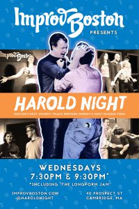 ImprovBoston Harold Night Poster