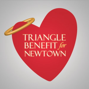 Triangle Benefit for Newtown Logo