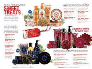 The Body Shop Holiday Catalog